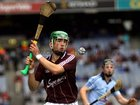 <br /> Galway's, Gerard O'Donoghue,<br /> during the All-Ireland Minor Hurling Championship Final.<br />
