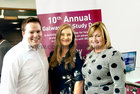 <br /> At the 10th Annual Galway IBD Study Day at NUI Galway, were: Dr Ciaran Mc Donald, UCC; Roisin Costello  NUIG and Susan Mc Alinden, NUIG.