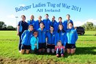 Ballygar Ladies Tug of war recently won two All-Ireland Medals. <br /> <br /> The Final round of the 405kg and 435kg National League was held on Sunday 14th  August at Edenderry Rugby Club, Co Offaly.<br /> <br /> Back Row: Linda Mc Ardle, Enda Murtagh, Georgie Spain, Tracey O Roarke, Orla O Roarke, Mary Quinn, Gerry Fitzgerald (Coach)<br /> <br /> Front Row: Mary Sheerin, Jack Shaugnessy, Ciara Naughton, Niamh O Roarke, Andrea Quinn, Grace Shaugnessy, Denise Mc Guinness.<br /> <br />