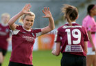 Galway Women's FC v Wexford Youths Só Hotels Under 17 Women's National League Final at Eamonn Deacy Park.<br /> Kayla Brady celebrates after scoring Galway Women's FC second goal
