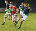Oughterard v The Neale Connacht Intermediate Football Final at MacHale Park, Castlebar.<br /> PJ McGauley, Oughterard, and Padraic Walsh, The Neale