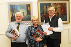 <br />  At the Galway Art club 80th Year Exhibition  at Kennys Art Gallery Liosban Industrilan Estate Tuam Road. were: Tom Kenny, Kennys Art Gallery; Allison Titley, The Early Years and RonnieO'Gorman, Galway Advertiser, who opened the exhibition.