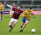 Galway v Roscommon Minor Football semi-final at the Pearse Stadium.<br /> Galway's Sean Mulkerrin and Roscommon's Brian Derwin