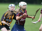 Presentation College, Athenry, v Loreto Secondary School, Kilkenny, Tesco All-Ireland Post Primary Junior A Camogie Final in Banagher.<br /> Olwen Rabbitte, Presentation College, Athenry, and Asha McHardy, Loreto Secondary School, Kilkenny