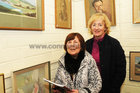 <br /> Mary Glynn, Renmore and Mary Henergan, Newcastle,  at the Galway Art club 80th Year Exhibition  at Kennys Art Gallery Liosban Industrilan Estate Tuam Road.