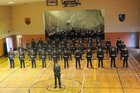<br /> A gneral view of the 146th Recruit  Platoon Passing out Parade at Dun Uí Mhaoilíosa Renmore.