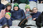 Corofin supporters at the AIB GAA Football All-Ireland Senior Club Championship final at Croke Park.<br />