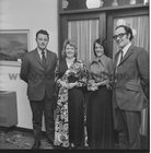 At theannual dinner of O'Flaherty Markets, Galway, held in Flannery's Hotel, Galway, in November 1973