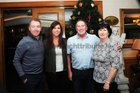 At the New Years Eve celebration at Park House Hotel, were: Craig Harding, Leanne Fleming, John and Pauline Fleming, Claregalway.