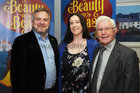 At a reception in the Bon Secours Hospital Renmore to launch the Renmore Pantomime Beauty and the Beast which will be staged at the Town Hall Theatre from the 30th Dec to 14 Jan 18. were: Padraic O Neachtain, Supermacs Sponsor; Chantelle Kenny, Chairperson and Joe McCarthy, President.