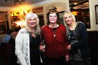 <br /> Fiona O'Malley, Salthill, with Lorraine and Siltha, at the New Years Eve celebration at Park House Hotel,