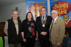 <br /> At a reception in the Bon Secours Hospital Renmore to launch the Renmore Pantomime Beauty and the Beast which will be staged at the Town Hall Theatre from the 30th Dec to 14 Jan 18. were: John Benson, Anna Byrne, Cllr Pearce Flannery, Mayor o Galway and Tom Duggan.