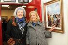 <br /> Amelia Joyce and Miriam O'Reilly, Oughterard,  at the Galway Art club 80th Year Exhibition  at Kennys Art Gallery Liosban Industrilan Estate, Estate Tuam Road.