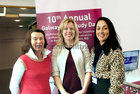 <br /> Dr Valerie Byrnes, Dr Mairean McNally and Dr Naesa Nc Gettigan, At the 10th Annual Galway IBD Study Day at NUI Galway, were:a