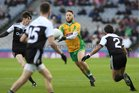 Corofin v Kilcoo AIB GAA Football All-Ireland Senior Club Championship final at Croke Park.<br /> Corofin's Micheál Lundy