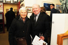 <br /> Lailli Lamb and Patsy Farrell, Barna,  at the Galway Art club 80th Year Exhibition  at Kennys Art Gallery Liosban Industrilan Estate Tuam Road.
