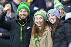 Corofin vsupporters at the AIB GAA Football All-Ireland Senior Club Championship final at Croke Park.<br />