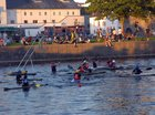 A summer night at the Claddagh Basin