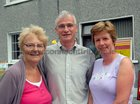 <br /> Ina Shearer, Tommy and Patricia Jordan,  at the John Coogan Park, 35th birthday celebrations