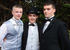 <br /> At the Colaiste Colm Cille Debs Ball in the Westwood House Hotel, were: Michael O'Conghaile, Rossaveale; Eoin O Cualain, Inverin, and Mairtin O Tuathaill, Inverin.