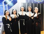 <br /> Rachel Murray, Rachel Monogue, Gabriella Kozial,Emma Fahy and Margarita Ward,  took part in the Merlin College production  of Sister Act The Musical held at the School