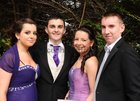 At the Colaiste Colm Cille Debs Ball in the Westwood House Hotel, were: Saoirse Ni Flatharta, Inverin; Fionntan O'Toole, Inverin; Cliona Ni Griofa,  Carraroe and Diarmuid Costello.