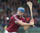 Galway v Limerick Allianz Hurling League semi-final in Limerick.<br /> Galway's Johnny Coen