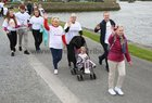 Some of the many people who took part in the 2019 Galway Memorial Walk in aid of Galway Hospice.