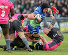 Connacht vs Brive European Rugby Challenge Cup Round 4 game at the Sportsground.<br /> Connacht's Ultan Dillane