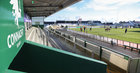 A section of the empty Clan Stand before the start of the Connacht vs Ospreys Guinness PRO14 game at the Sportsground last Sunday.<br />