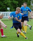 Action from week 4 of Tag Rugby at Corinthians<br /> <br /> Brian Conway of Rugger Duckies