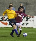Galway United v St. Patrick's Athletic Premier Division game at Terryland Park.<br /> Stephen Walsh, Galway United