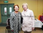 <br /> Brid Tomkins and Delia Cummins, at the Salthill Active  Retirement Association celebrating their 20th anniversary at Leisureland Salthill.