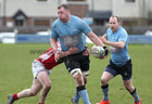 Galwegians v Cashel Ulster Bank All Ireland League Division 2A game at Crowley Park.<br />