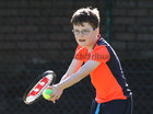 Jack Farrell, Galway Lawn Tennis Club, who competed in the U10 section at the Galway Lawn Tennis Club Junior Tournament last weekend.