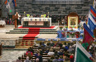 The annual Solemn Novena at Galway Cathedral