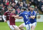 Galway v Laois Allianz Hurling League Division 1B Round 1 game at the Pearse Stadium.<br /> Galway, and Laois