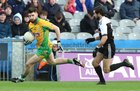 Corofin v Kilcoo AIB GAA Football All-Ireland Senior Club Championship final at Croke Park.<br /> Corofin's Martin Farragher and Kilcoo's Niall Branagan