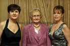 Attending the Killimordaly Hurling Club Social at the<br />  Meadow Court Hotel, (from left),<br />  Ann, Kathleen and Martina Creaven.<br />