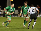 Connacht v Zebre Guinness PRO14 game at the Sportsground.<br /> Connacht's Eoghan Masterson and Sean O'Brien and Zebre's Oliviero Fabiani
