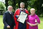 Donie and Moya Sexton from Nuns Island with their son Dr. Donal Sexton who was conferred with a PhD at NUI Galway. Dr. Sexton is a Consultant in Nephrology at Beaumont Hospital in Dublin.