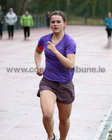 Irene Gorman taking part in the GOAL Mile at Dangan on Christmas Day.