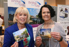 Cllr Martina Kinane of Bridge That Gap, and Annette Hassett, Oranmore Biz, at Oranmore Enterprise Town Business, Sports and Community Expo, hosted by the Bank of Ireland at Calasanctius College last weekend.