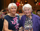 Bridie Fallon and Mary Kelly at the Renmore Active Retirement Association 20th anniversary dinner in the Galway Bay Hotel.