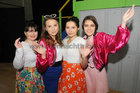 <br /> Danielle Donnelly, Klera Balandina, Maja Laskowska and Jukia Nikiel, taking part in the Colaiste Mhuirlinne, Doughiska production of Summer Music The Musical at the College.