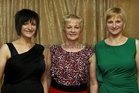 Attending the Killimordaly Hurling Club Social at the<br />  Meadow Court Hotel, (from left),<br />  Avril Fergus, Eileen Daly and Niamh Flannery.