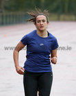 Dora Gorman taking part in the GOAL Mile at Dangan on Christmas Day.