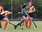Greenfields v Athlone Connacht Junior Cup Hockey final at Dangan.<br /> Aoife McGovern, Greenfields