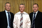 Attending the Killimordaly Hurling Club Social at the<br />  Meadow Court Hotel, (from left),<br />  Tommy Skehill, Noel Cooney and Michael Haverty, (members of the 1986 County Senior Hurling Championship winning team).