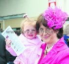 Rose O'Neill, Caherlistrane, with her daughter Ciara, went racing at Ballybrit on Monday.